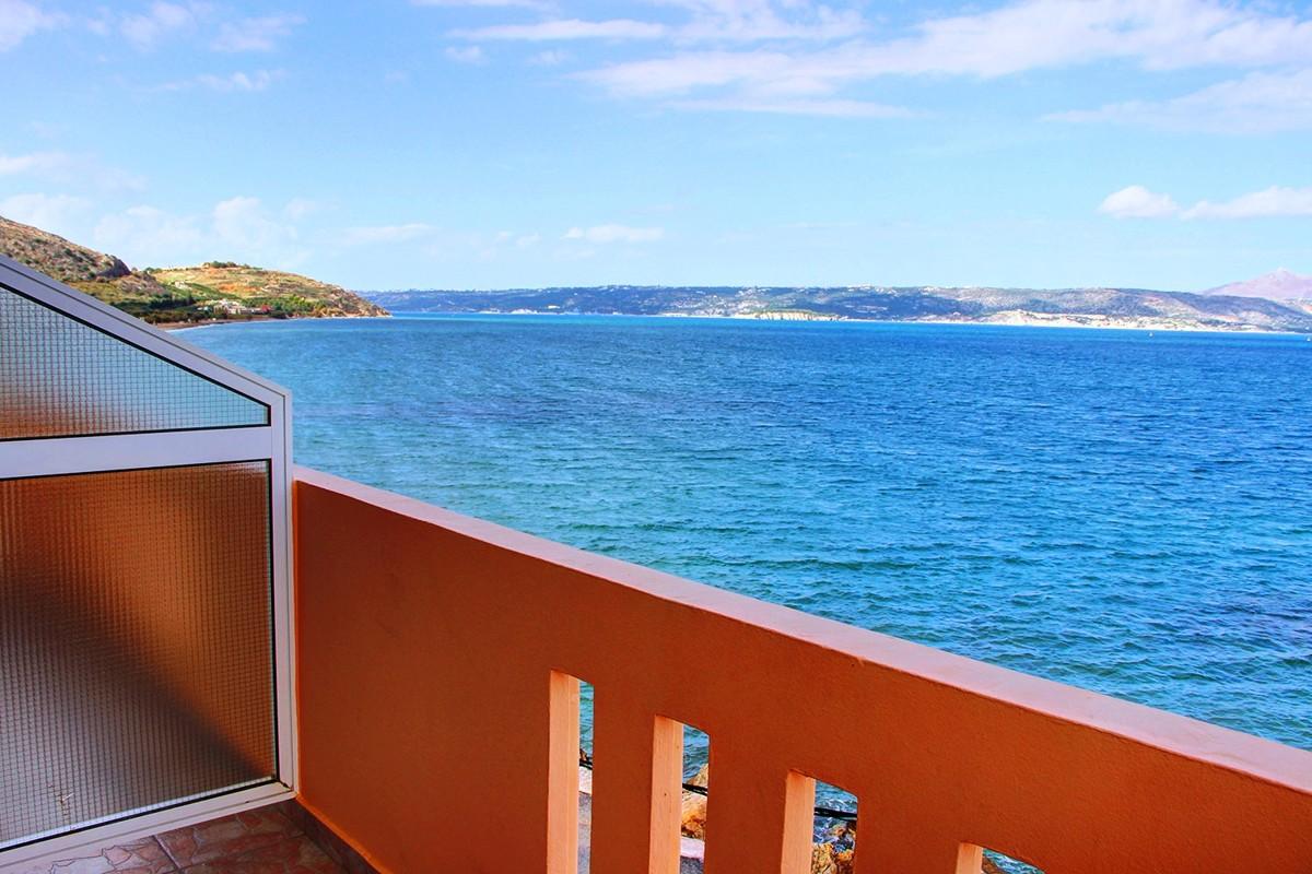 Hotel przy samym morzu w Kalyves