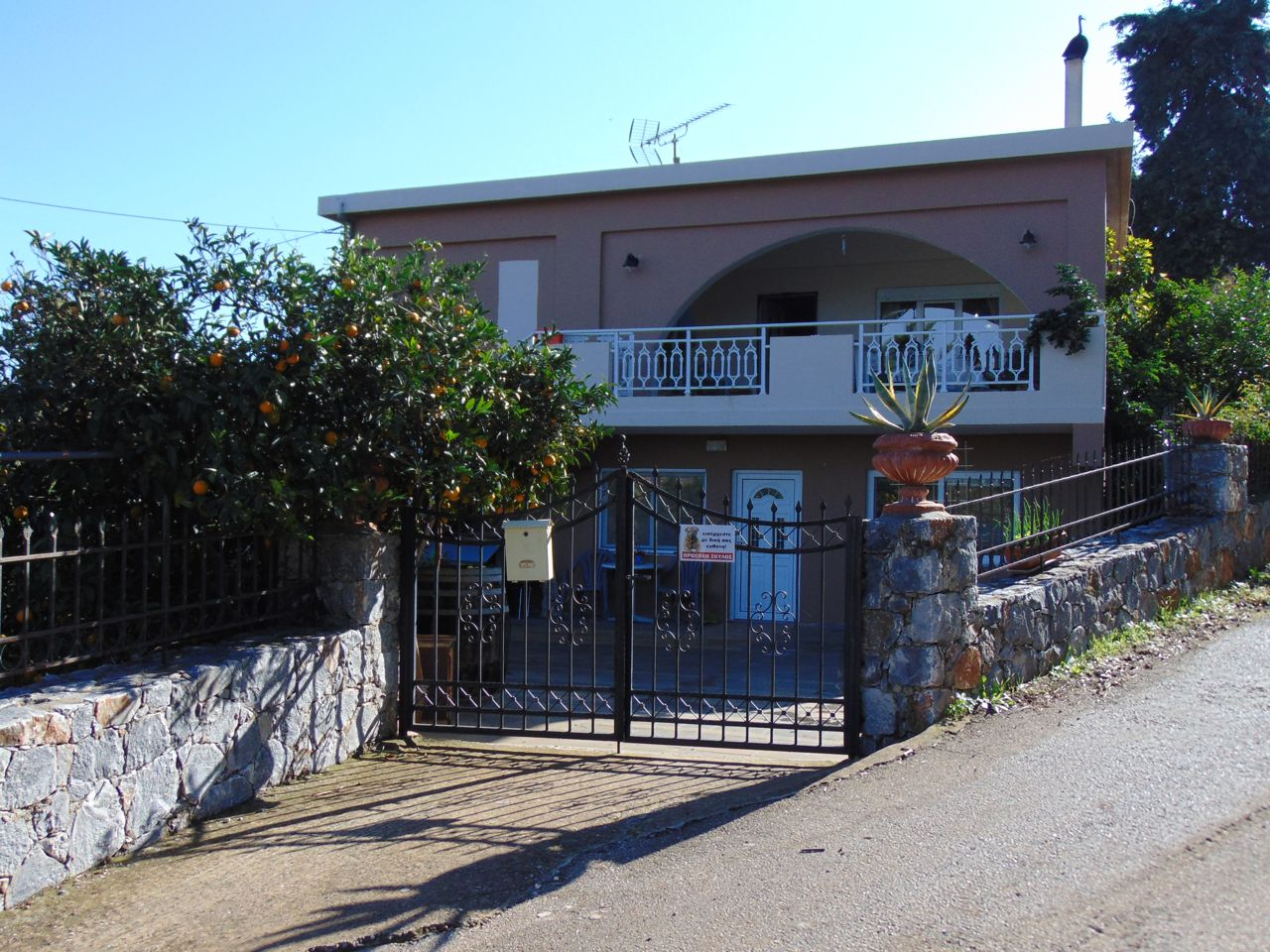 Beautiful villa with sea and mountain views