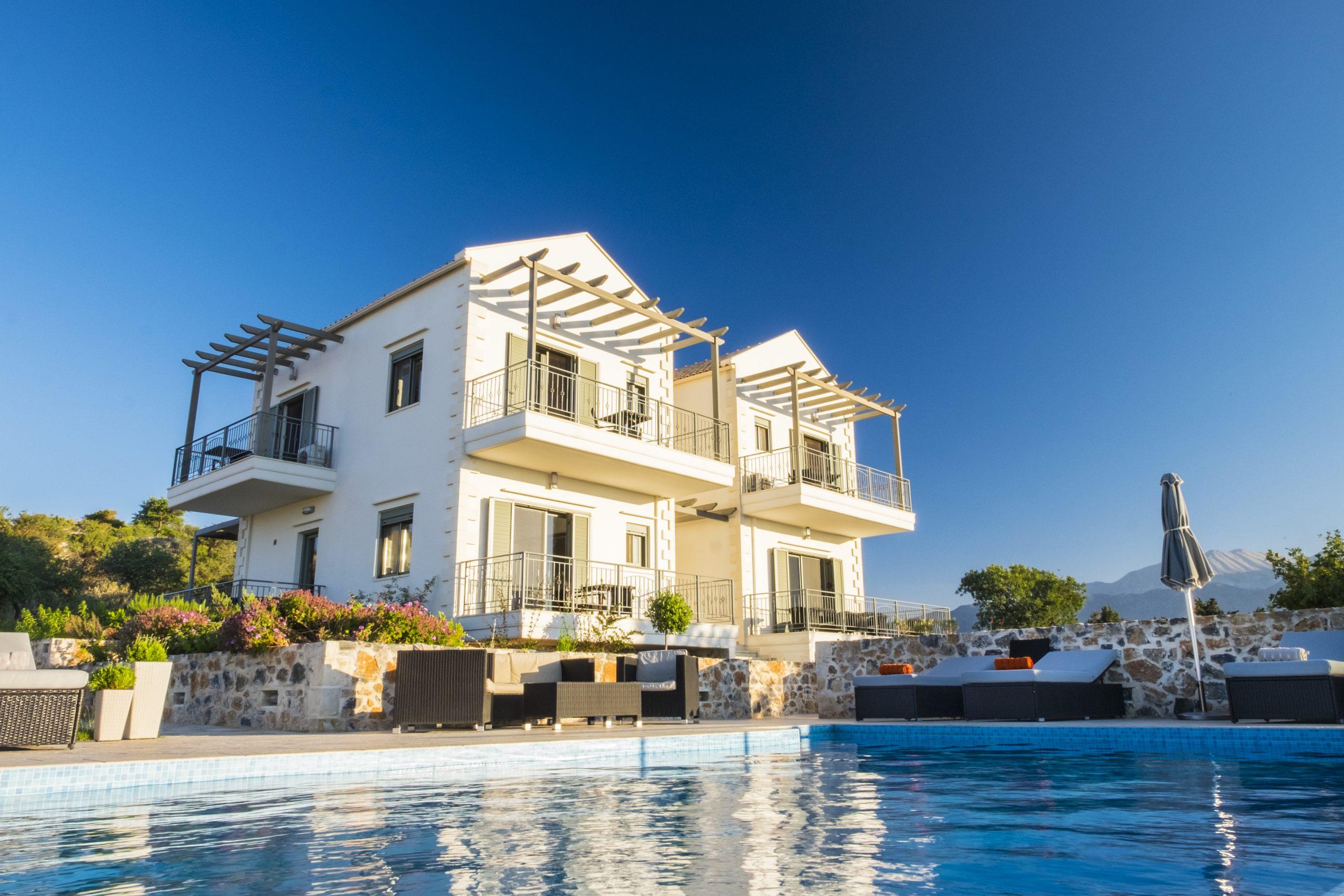 Supreme villa with stunning sea and mountain views